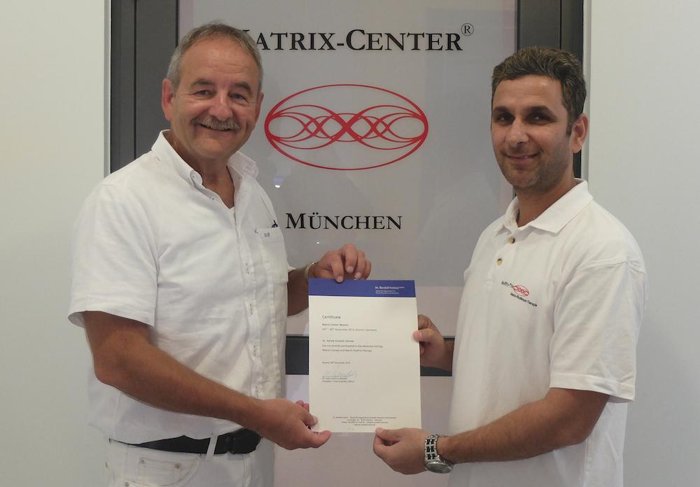 Advanced Training in Matrix Center