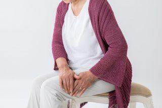 Eine Frau um die 50 Jahre hatte verzögertes Knochenwachstum nach Oberschenkelbruch